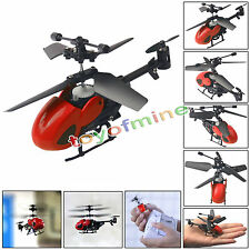 Red Free shipping High Quality QS5010 3.5CH Micro Remote Control RC Helicopter