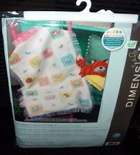 """Dimensions Counted Cross Stitch Kit 70-74131 WOODLAND CREATURES AFGHAN 29"""" x 47"""""""