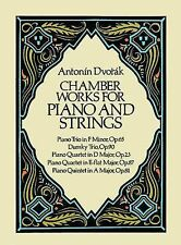 Chamber Works for Piano and Strings by Antonin Dvorak (2015, Paperback)