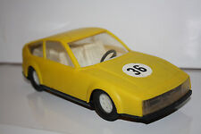 Vintage Bulgarian Collectible mechanism Plastic Rally Toy Car # 36