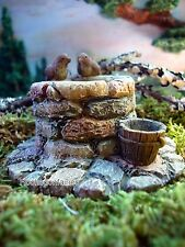 Miniature Wishing Well MG2 Fairy Garden Figurine