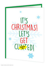 Brainbox Candy Rude Offensive Christmas Xmas Card funny cheeky humour joke