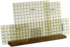 Omnigrid Wooden Ruler Rack, New, Free Shipping