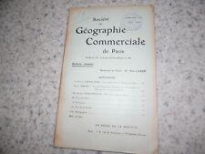1909.Société géographie commerciale.Mines d'or afrique du sud.Allemagne..