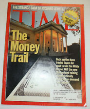 Time Magazine The Money Trail & Richard Jewell November 1996 031215R2