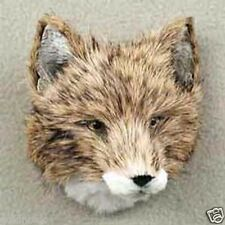 COYOTE HEAD-Fur Refrigerator Magnets! (Handcrafted & Hand painted..Collectable!