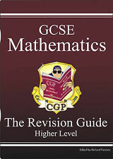CGP GCSE MATHS HIGHER LEVEL THE REVISION GUIDE KS4 QUESTIONS ANSWERS AQA OCR EDE
