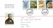 26 JUNE 1984 GREENWICH MERIDIAN ROYAL MAIL FIRST DAY COVER KINGSTON UT FDI