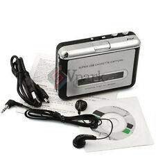 Tape Cassette to MP3 PC CD iPod USB Converter Capture Digital Audio Music Player