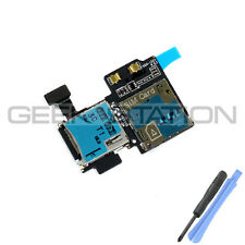 for Samsung Galaxy Note 2 4G N7105 Sim Memory Card Flex Connector Slot Cable