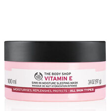 Body Shop ◈ VITAMIN E SINK IN MOISTURE SLEEPING MASK ◈ Intense Moisture ◈ 100ml