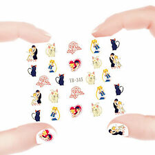 Nail Art Manicure Water Transfer Decal Stickers Sailor Moon YB345