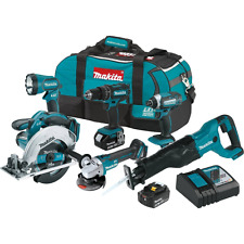 Makita 18V LXT Lithium-Ion Cordless 6-pc. Combo Kit (3.0Ah),