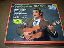 ABBADO / DOMINGO / ROSSINI barbiere di siviglia - 2 cd box set - SEALED / NEW