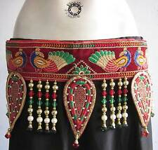 Womens Belt|Belly Dance Costume Skirt Pant Hip Scarf Jewelry|Tribal Fusion Gypsy
