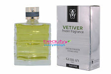 Vetiver Frozen Fragrance by Guerlain 2.5oz / 75ml EDT Spray For Men RARE
