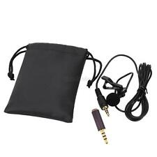 External Clip-on Lapel Lavalier Microphone For iPhone CellPhone Recording Hot
