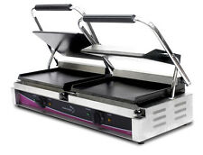 Pantheon CGL2S Extra Large Double Smooth Contact Grill (Boxed New)