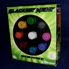 DC Direct Green Lantern Blackest Night Power Ring Spectrum Set of 9 Light-Up