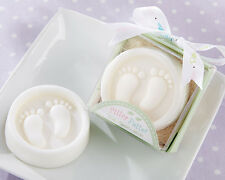 12 Pitter Patter Feet Scented Soap Baby Shower Favors