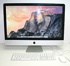 APPLE IMAC 27inch MID 2011_2.7GHZ I5 16GB RAM_1TB HD_Radeon ATI 6770 512Mb
