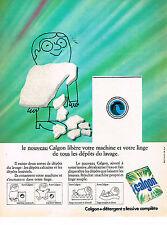 PUBLICITE ADVERTISING 034   1971   CALGON   protége votre lave linge