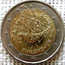 FINLANDIA 2 EURO 2005 - 50 ANIV. ENTRADA EN LA ONU - SIN CIRCULAR