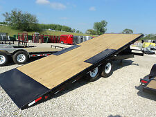 PJ 22' DECKOVER TILT TRAILER POWER UP/DOWN *WINTER BLOWOUT SALE* DR TRAILER