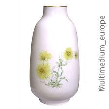 große Porzellan Bodenvase Lorenz Hutschenreuther Blumen-Dekor Chrysanthemen