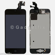 LCD Screen Display Touch Screen Digitizer + Button + Camera Frame For iPhone 5C