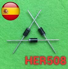 HER508 diode frd monolítico 5A 1000v do-27 envío rápido desde España