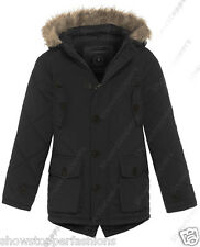 NEW BOYS PARKA JACKET COAT HOODED Boy Padded CLOTHING AGE 7 8 9 10 11 12 School