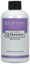 EzFlow Q Monomer Maximum Adhesion 8 oz / 236 mL 66069 - Acrylic Nail Liquid NEW!