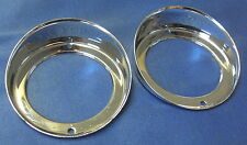 2 X JAGUAR DAIMLER Chrome Luce Laterale RIM MARK 10, S-Type, 420, 420g c18194 x 2