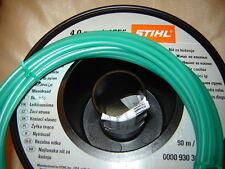 1X 5 MTR X 4mm OF GENUINE STIHL STRIMMER CORD LINE HUSQVARNA PETROL STRIMMERS