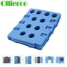 Ollieroo Adult Dress Shirt Clothes Flip Fold Folder Board Laundry Organizer Blue