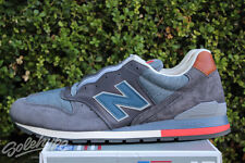 NEW BALANCE 996 DISTRICT RETRO SKI SZ 9 MADE IN USA GREY NAVY BROWN M996DSKI