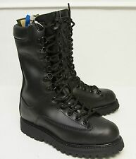 Matterhorn 1949 Black Leather Waterproof Gore Tex Insulated Field Boots - Sz 5