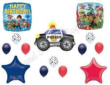 PAW PATROL CHASE Police Car Birthday Balloons Decoration Supplies Party Dogs