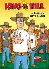 King of the Hill Complete 5th Fifth Season 5 Five DVD Set Series TV Show Animate