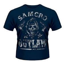 Sons of Anarchy Outlaw Dark Blue T-shirt Small