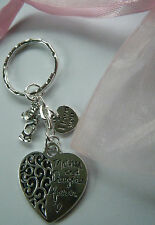 Mothers Day Gift Mother & Daughter Forever Keyring Bag Charm Mum Birthday