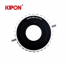 "Kipon Adapter for Canon 2/3"" B4 Mount Broadcast Lens to 1/3"" Video Camcorder"