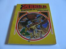 2000 AD ILLUSTRATIONS FROM GOLDEN AGE SCIENCE FICTION PULPS JACQUES SADOUL 1975
