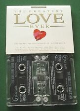 The Greatest Love Ever Paul Young Hall & Oates + Cassette Tape x 2 - TESTED