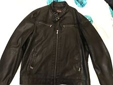 Micheal Kors Men's Extra Large Faux Leather Jacket