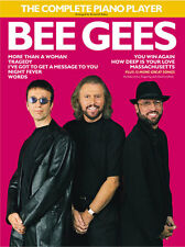 The Complete Piano Player Bee Gees Learn to Play Pop Vocal & Guitar Music Book