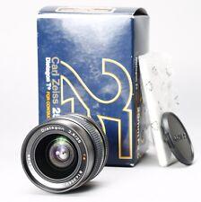 【NEAR MINT】CARL ZEISS DISTAGON T* 25MM F/2.8 LENS CONTAX / YASHICA C/Y -- MMJ