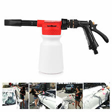 2in1 Spray Water Snow Foam Gun 900ML for Car and Truck Wash - Fits Garden Hose