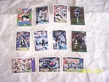 11 Baltimore Ravens Collection of Football Cards in NM/Mint Condition